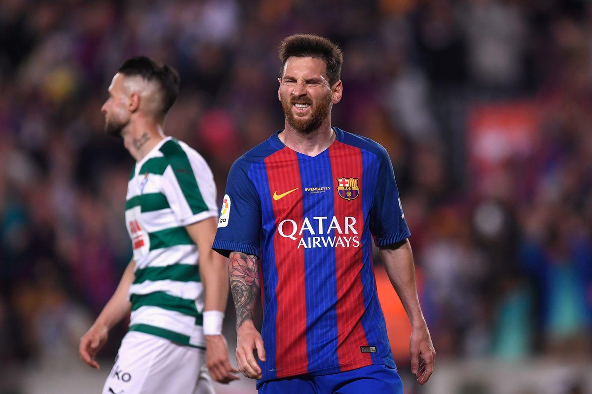 SD Eibar vs Barcelona