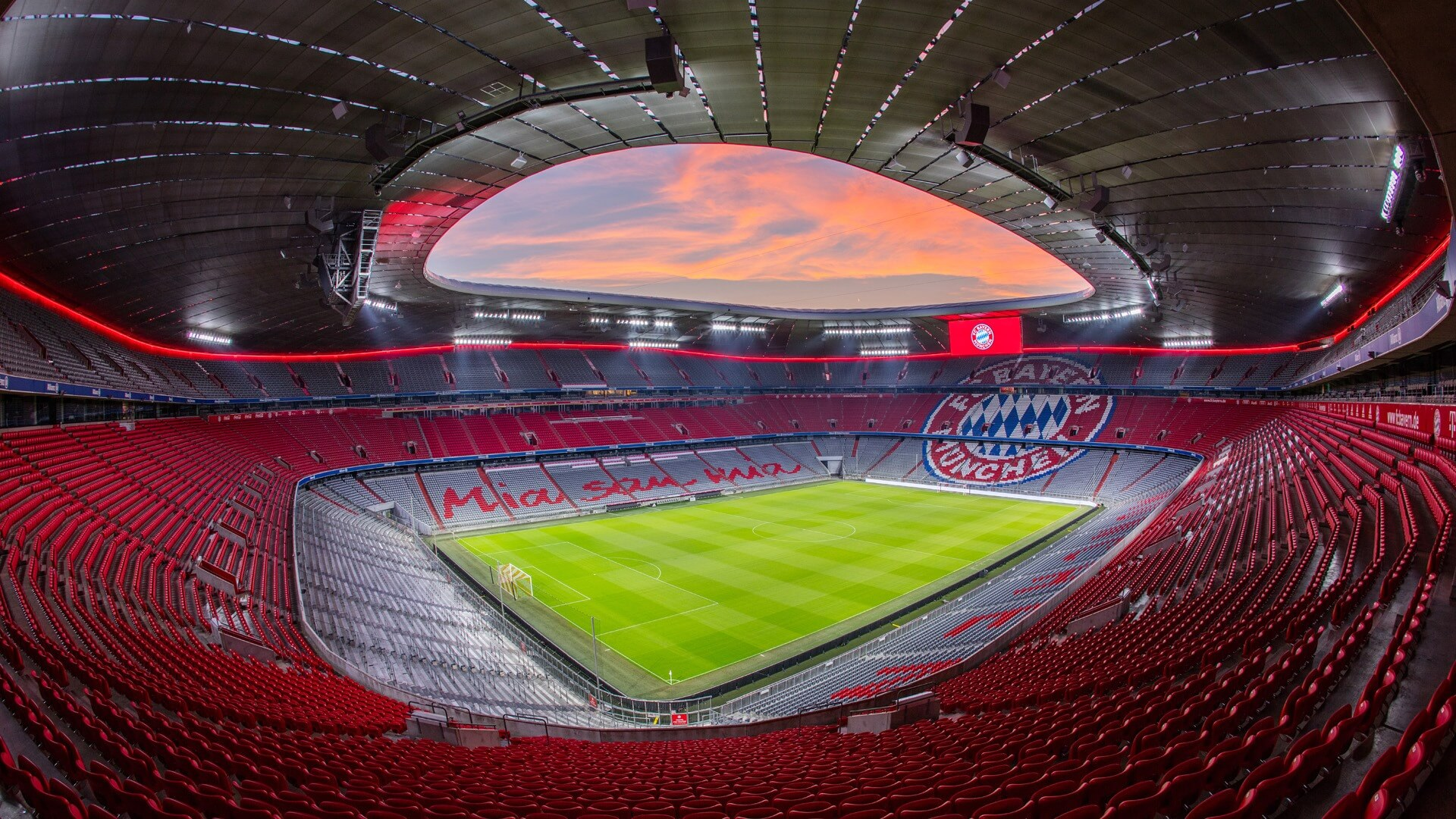 Allianz Arena Bayern Monachium
