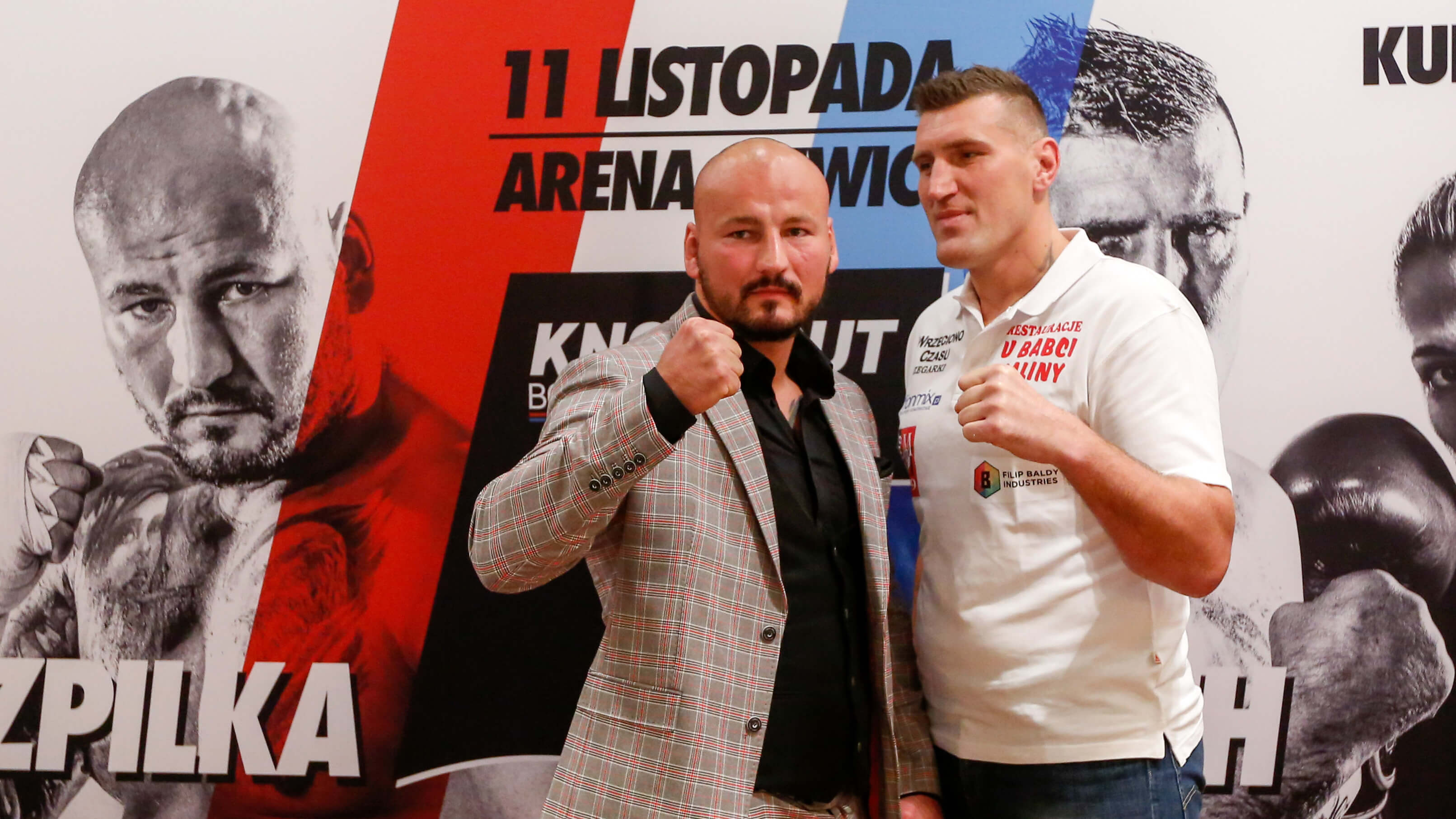 Mariusz Wach i Artur Szpilka