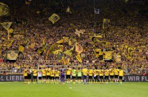 Borussia Dortmund na Signal Iduna Park