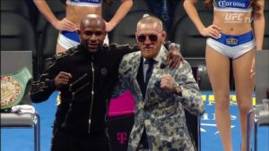 Conor McGregor i Floyd Mayweather po walce