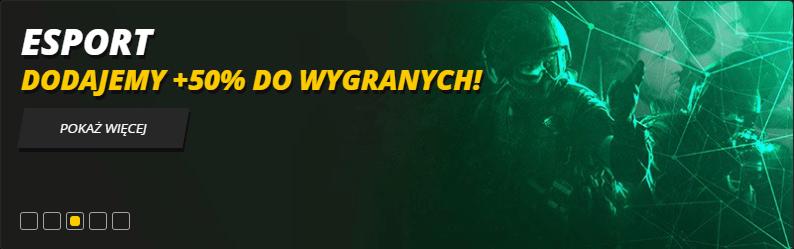 LVBET esport 50% do wygranych- bonusy bukmacherskie