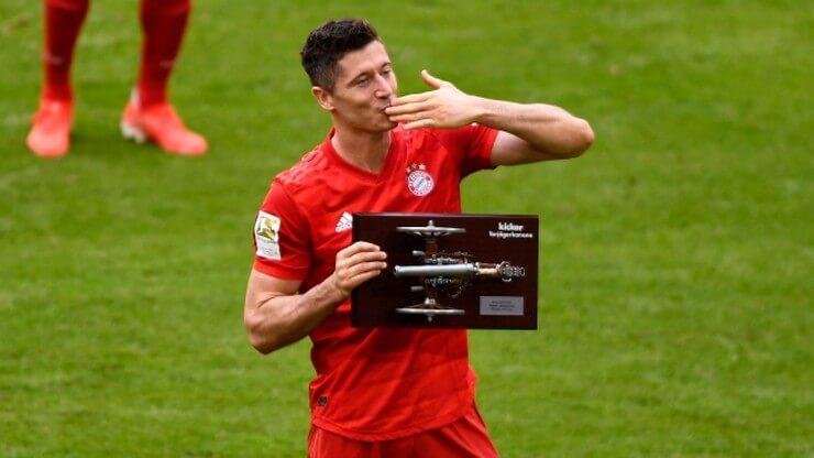 Lewandowski z nagrodą