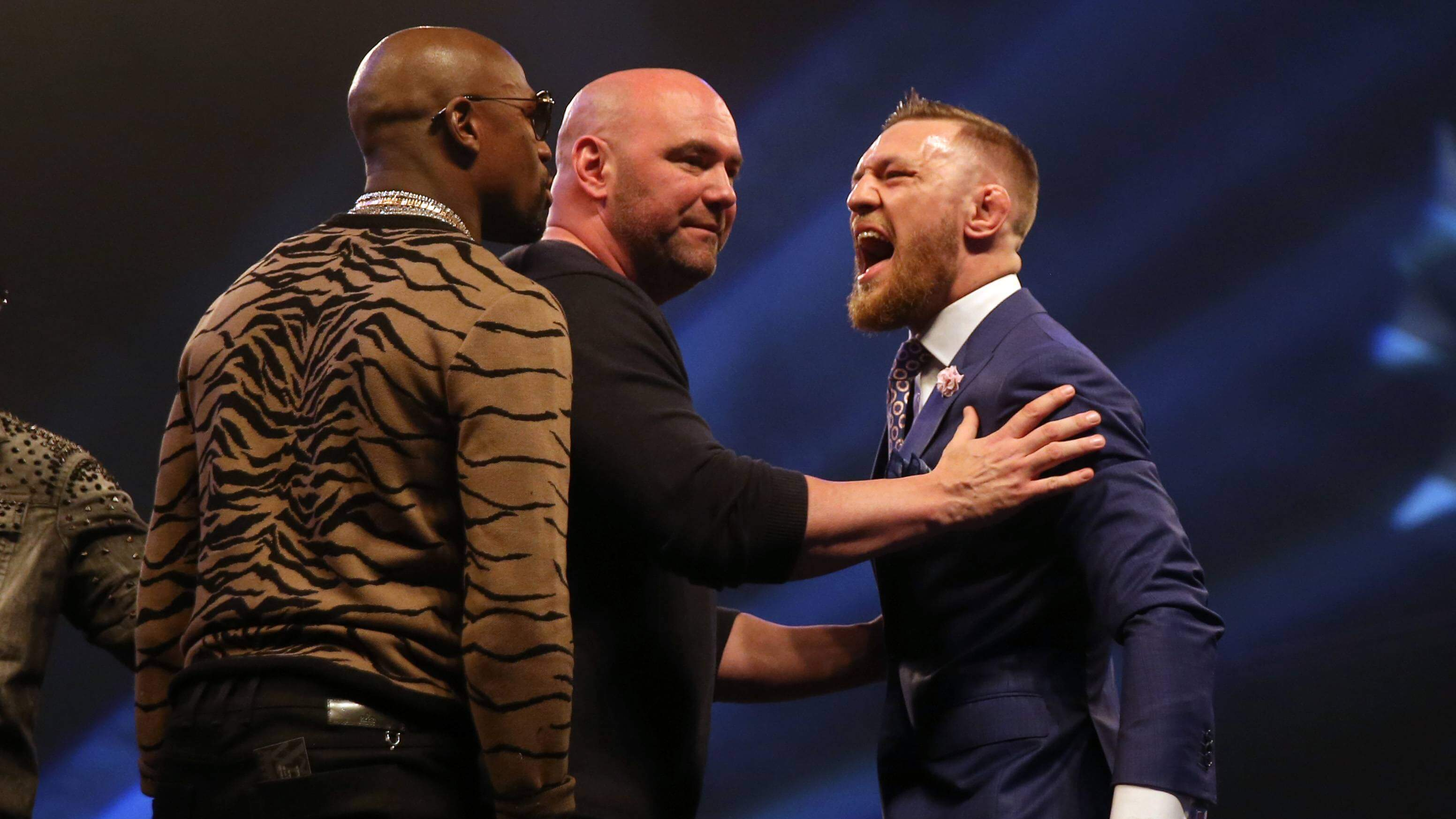 Conor McGregor kontra Floyd Mayweather
