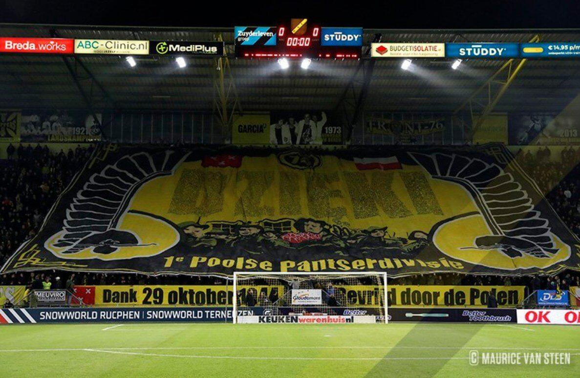 Podziękowania NAC Breda!