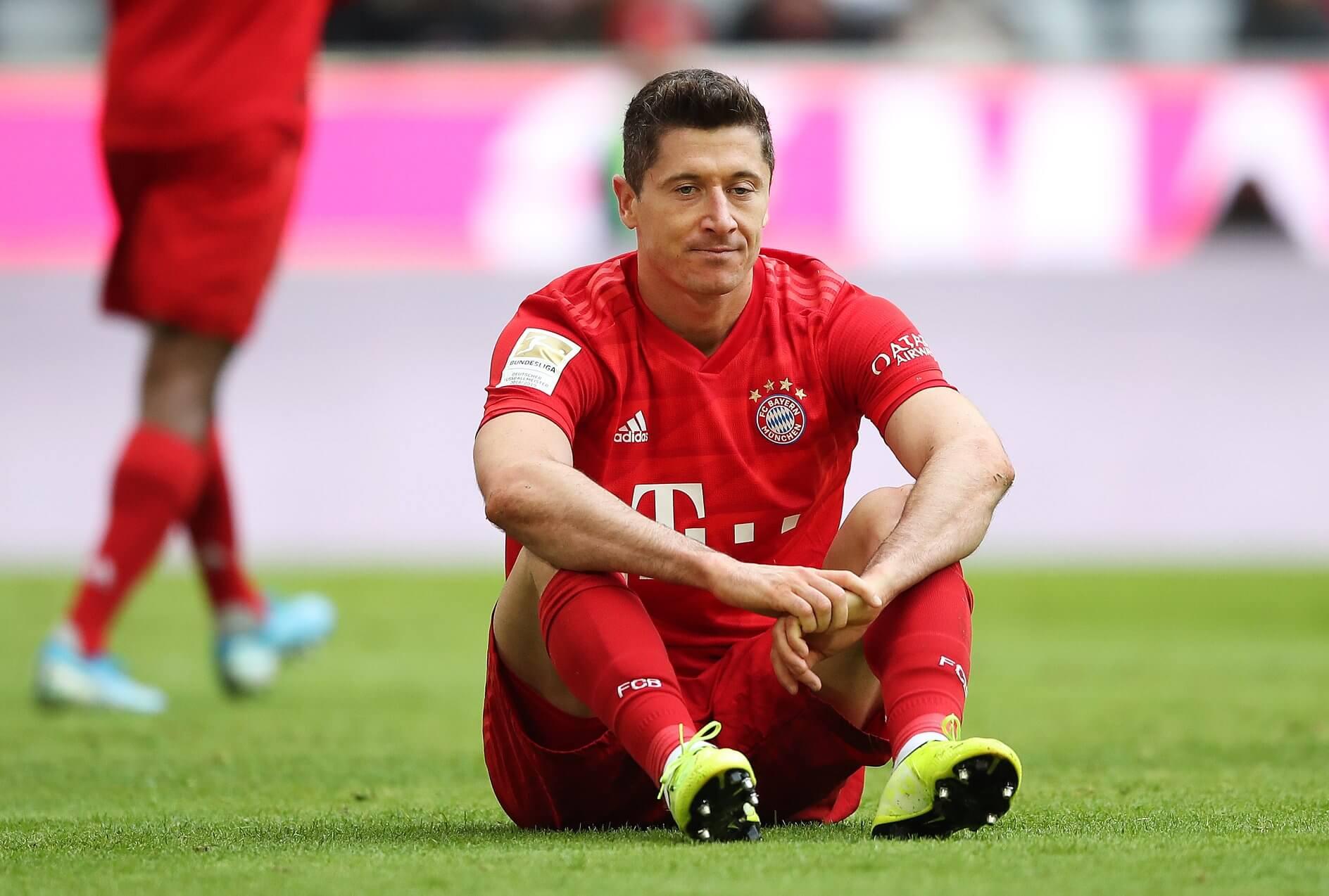 Robert Lewandowski po meczu z Hoffenheim