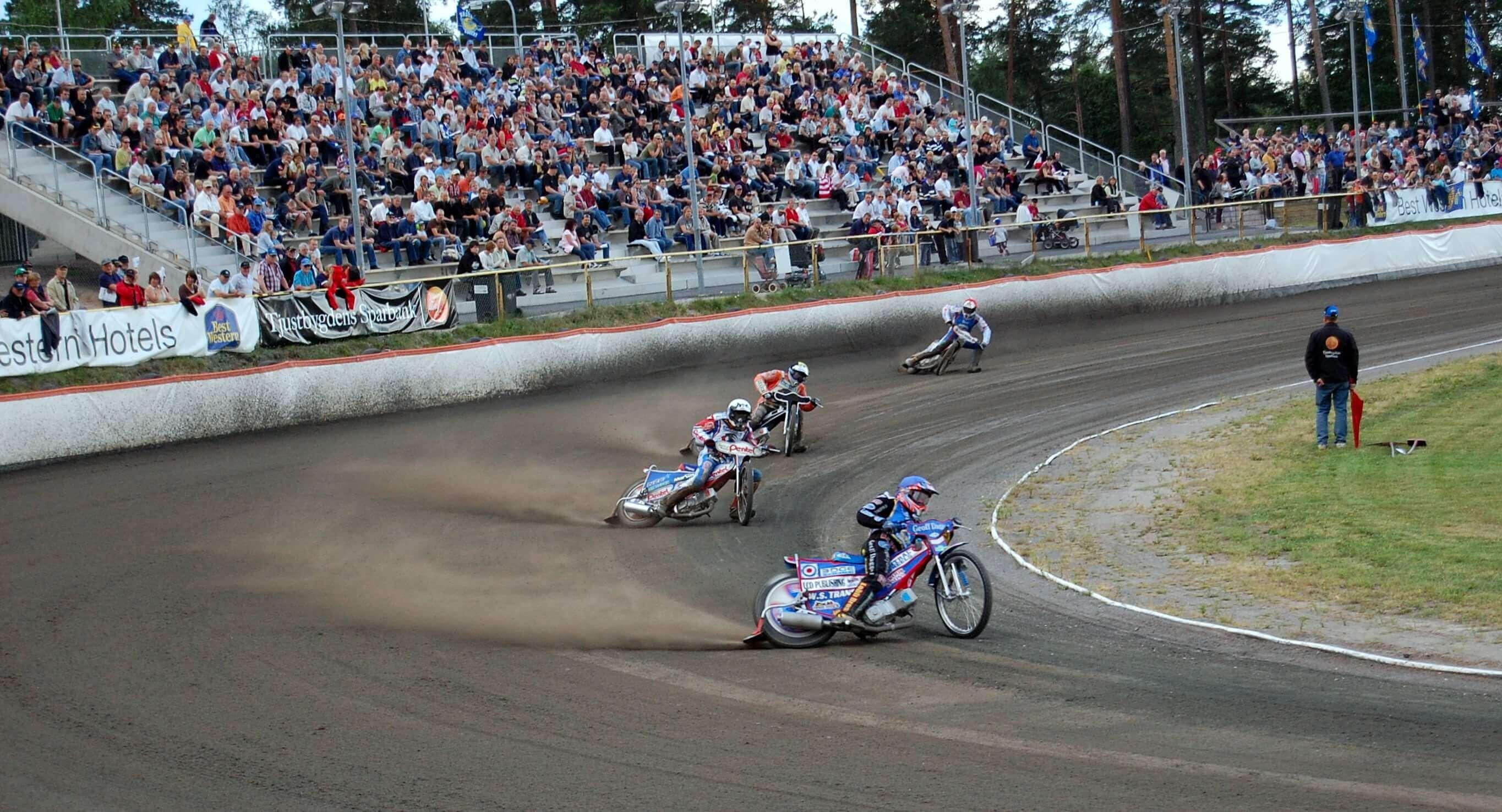 Mecz w Hallstavik w Elitserien