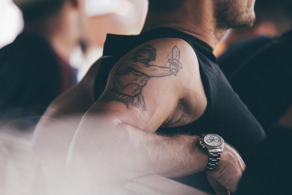 tatuaż Tottiego