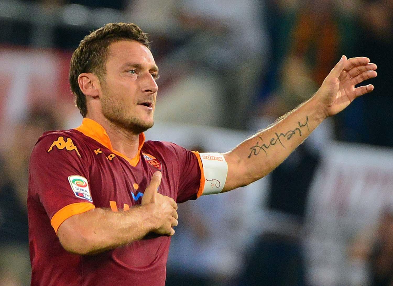 Totti w barwach Romy