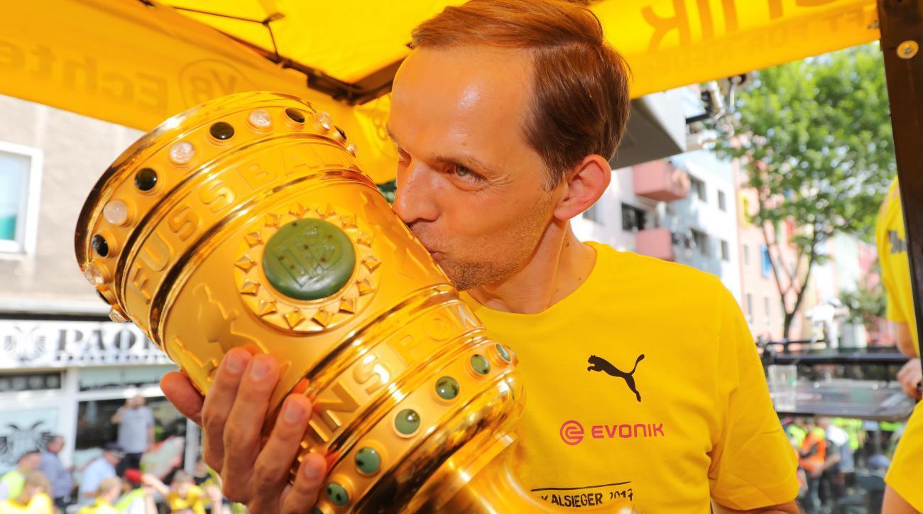 Tuchel z Pucharem Niemiec