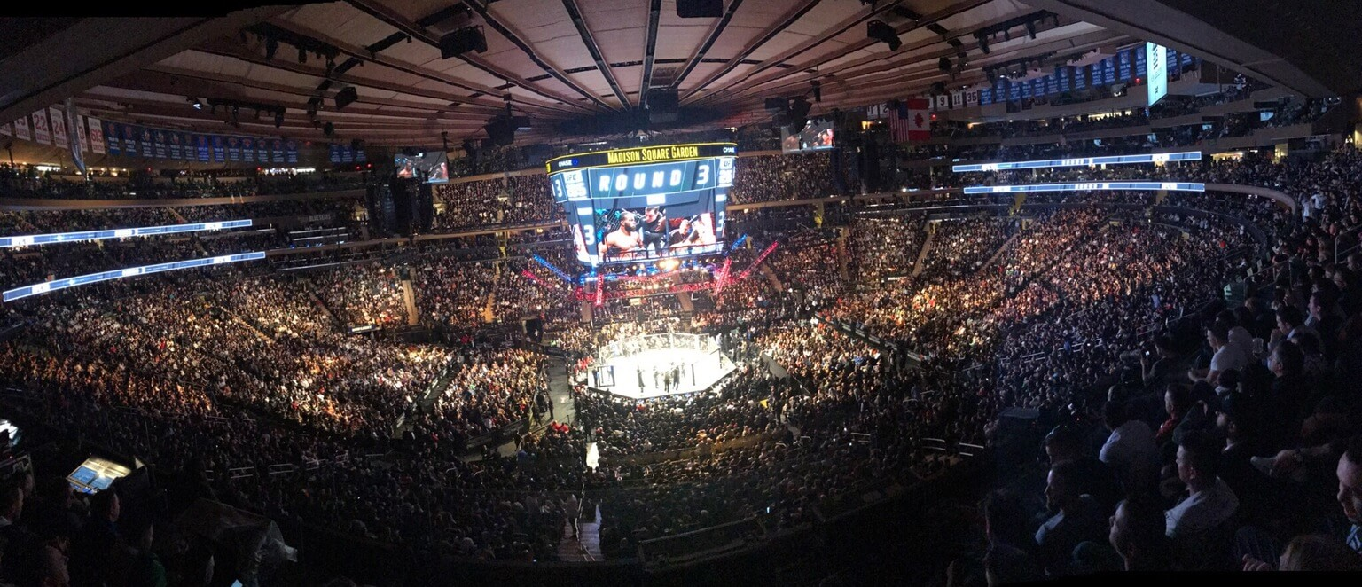 UFC w Nowym Jorku, w hali Madison Square Garden