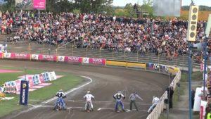 Stadion Unii Tarnów - start żużlowców