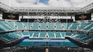 Kort główny w Miami