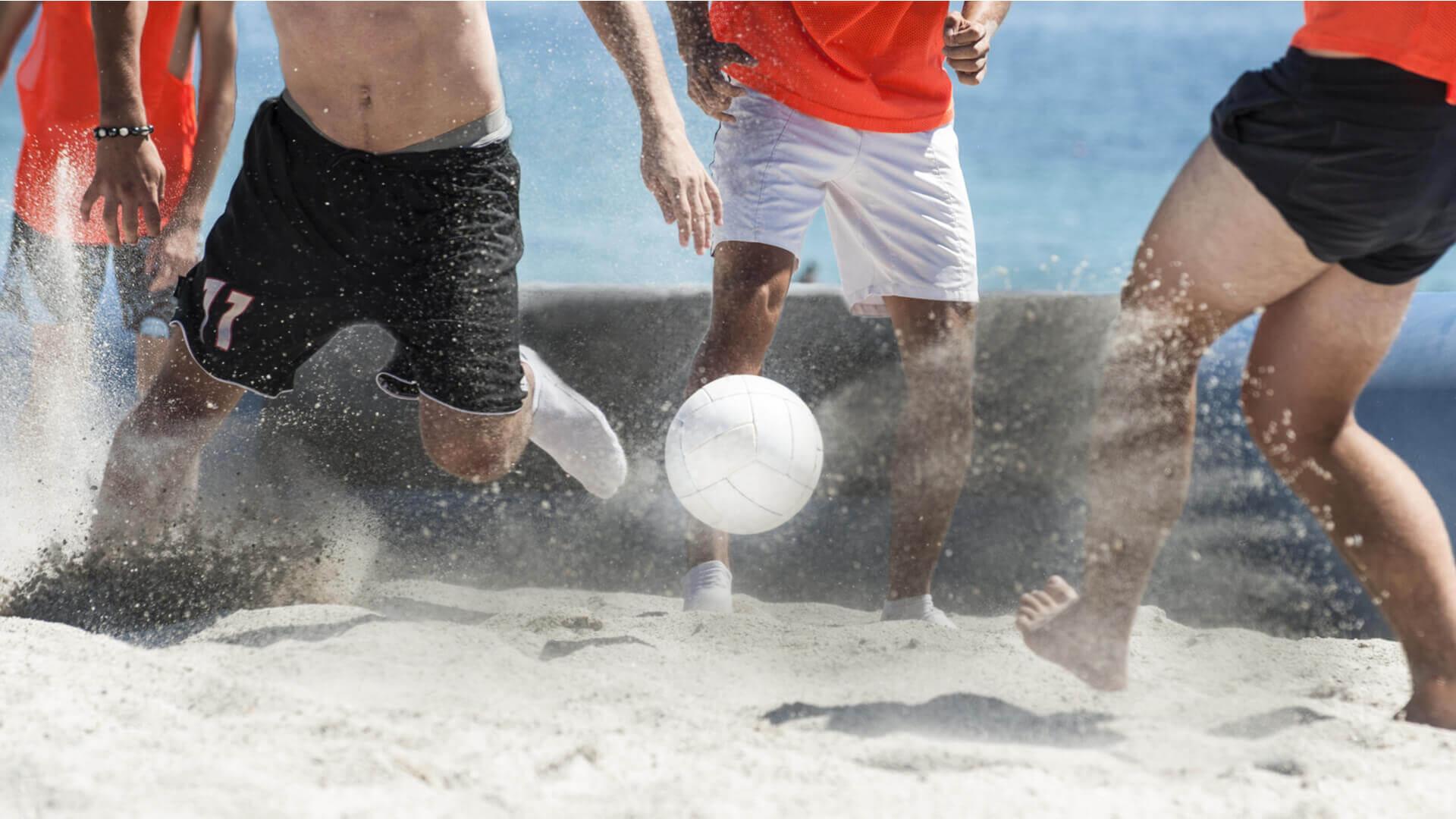 Piłka nożna plażowa