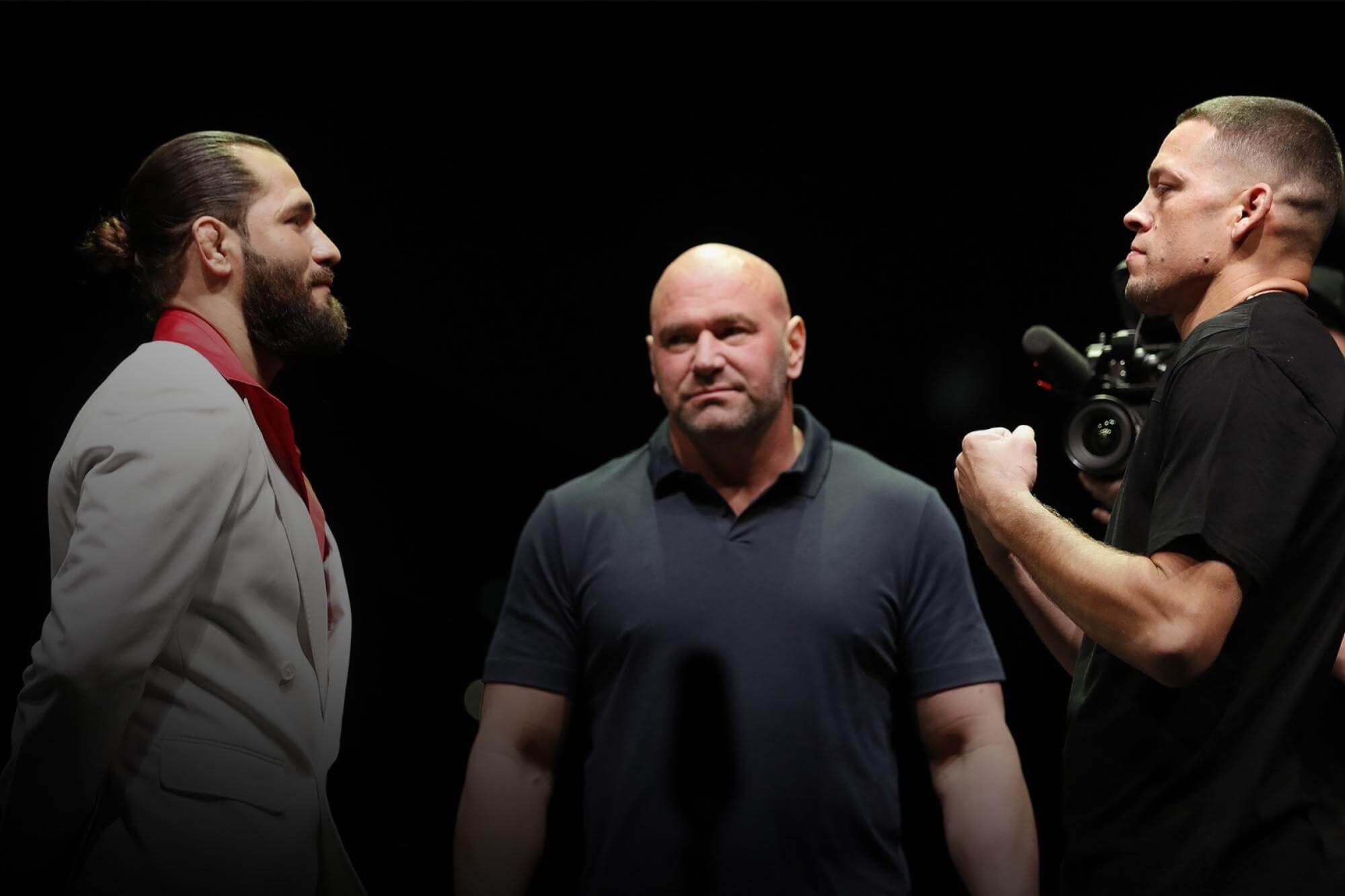 Diaz vs Masvidal przed UFC 244