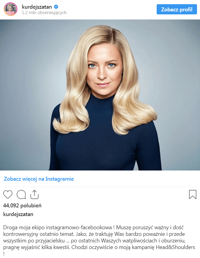 Barbara Kurdej-Szatan - instagram
