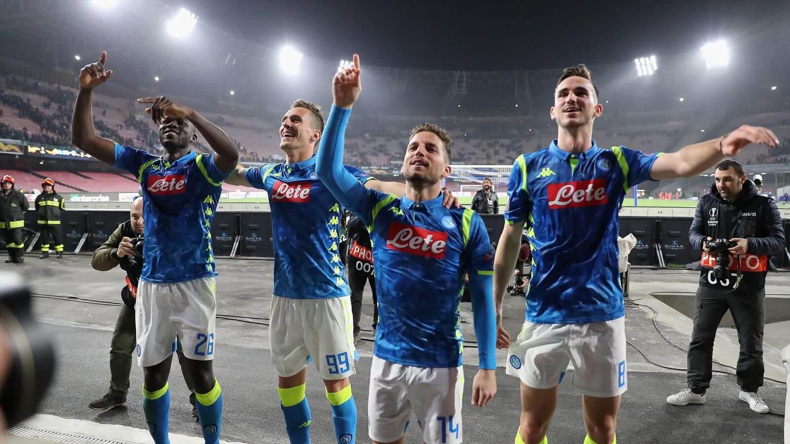 napoli fortuna liga europy