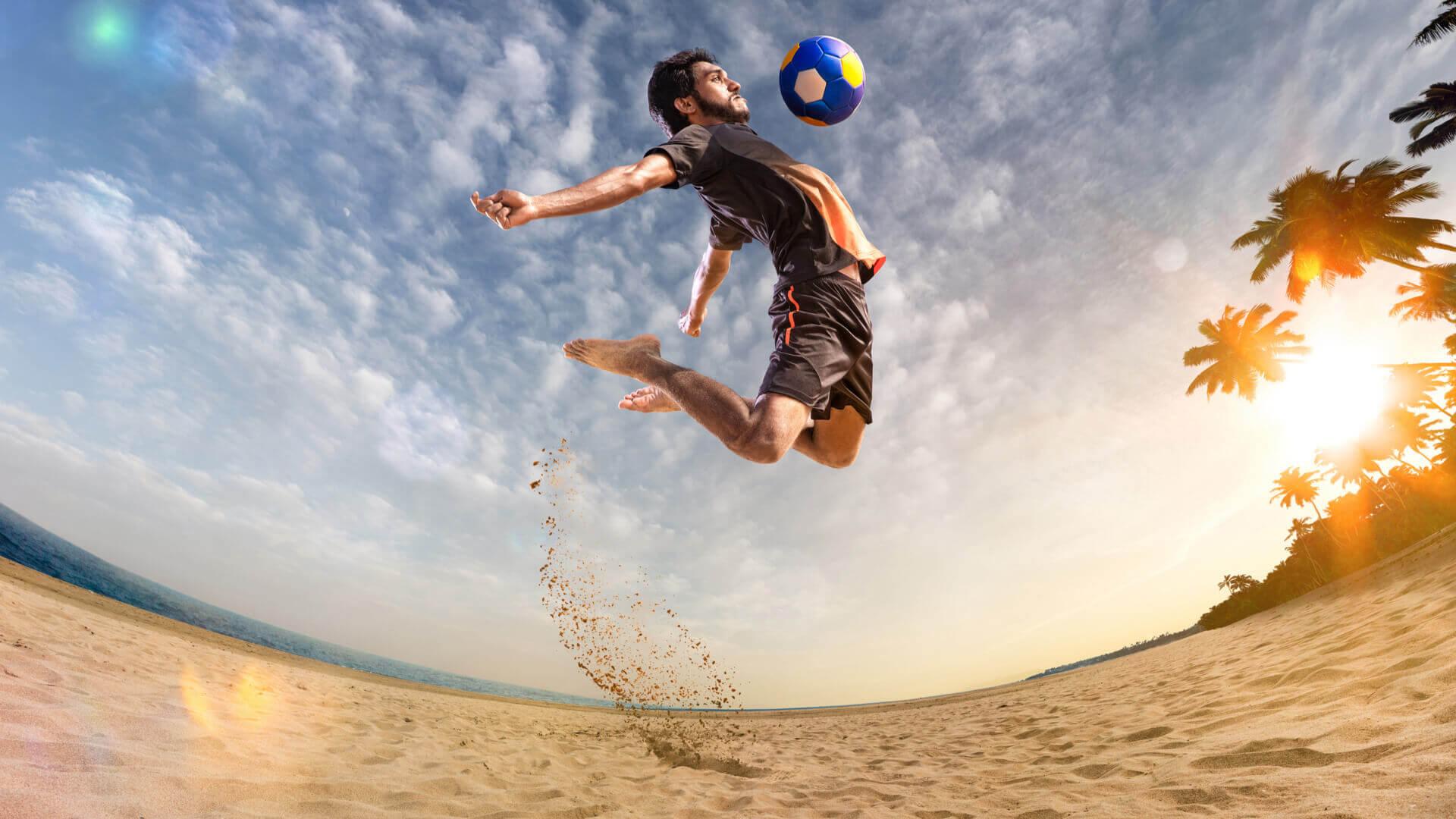 beach soccer typy