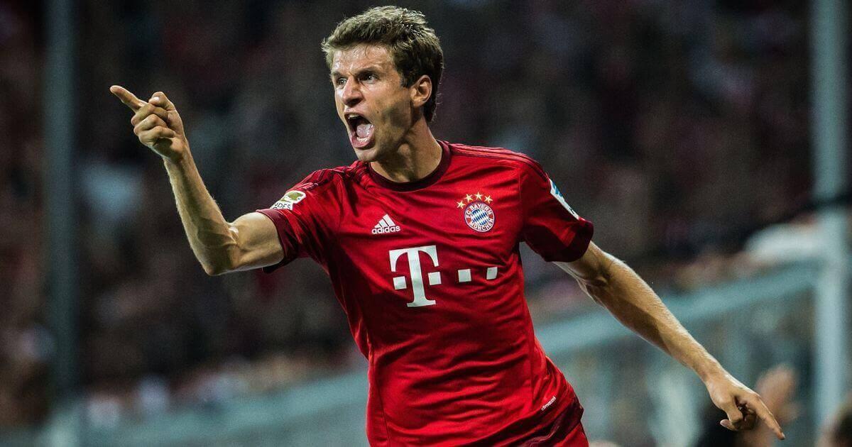 Thomas Mueller, napastnik Bayernu Monachium