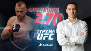 Typy UFC - Donald Cerrone po kursie 2,7