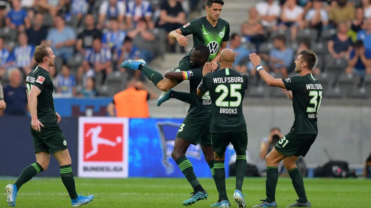 Wolfsburg na baner