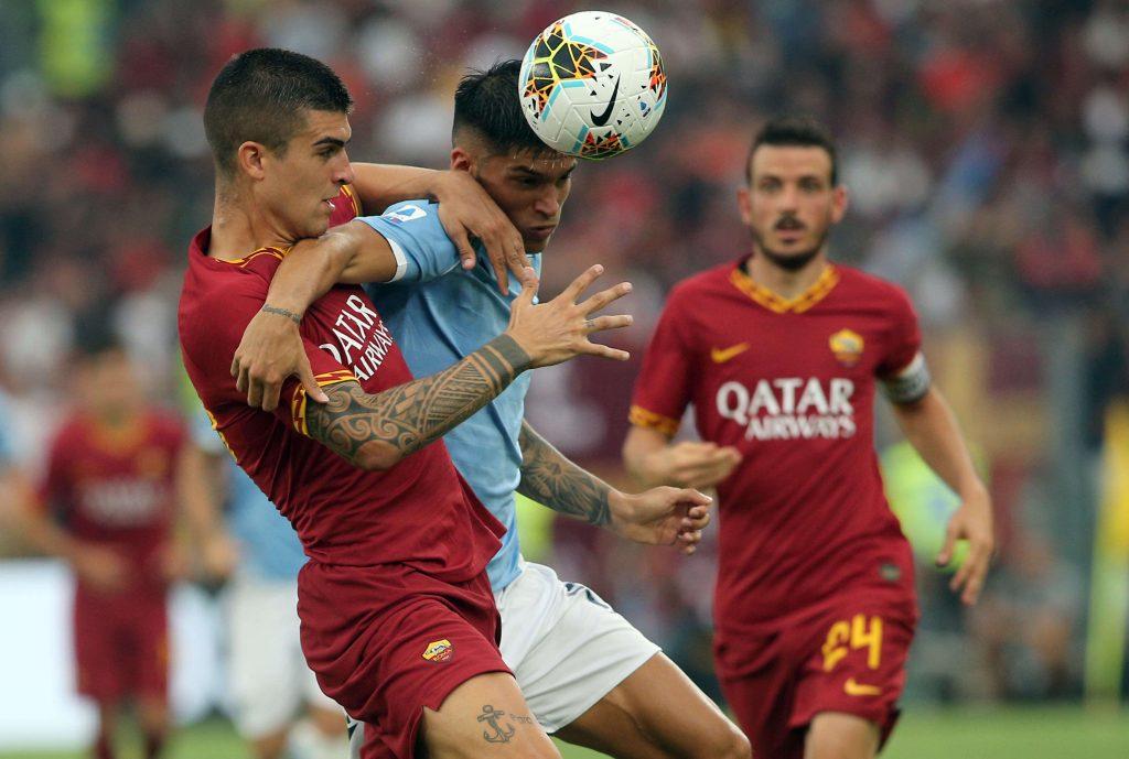 Joaquin Correa oraz zawodnik Romy