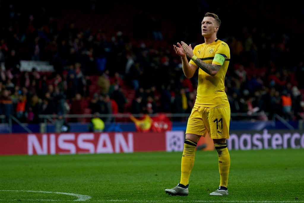 Marco Reus kapitan Borussii Dortmund