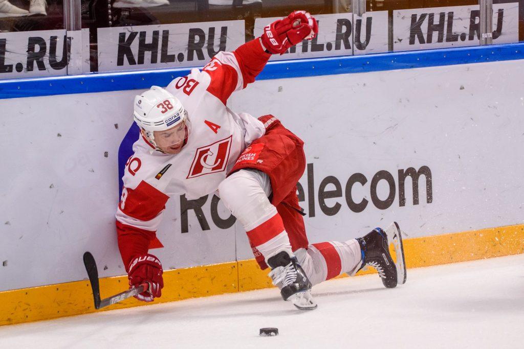 Zawodnik Spartaka Moskwa