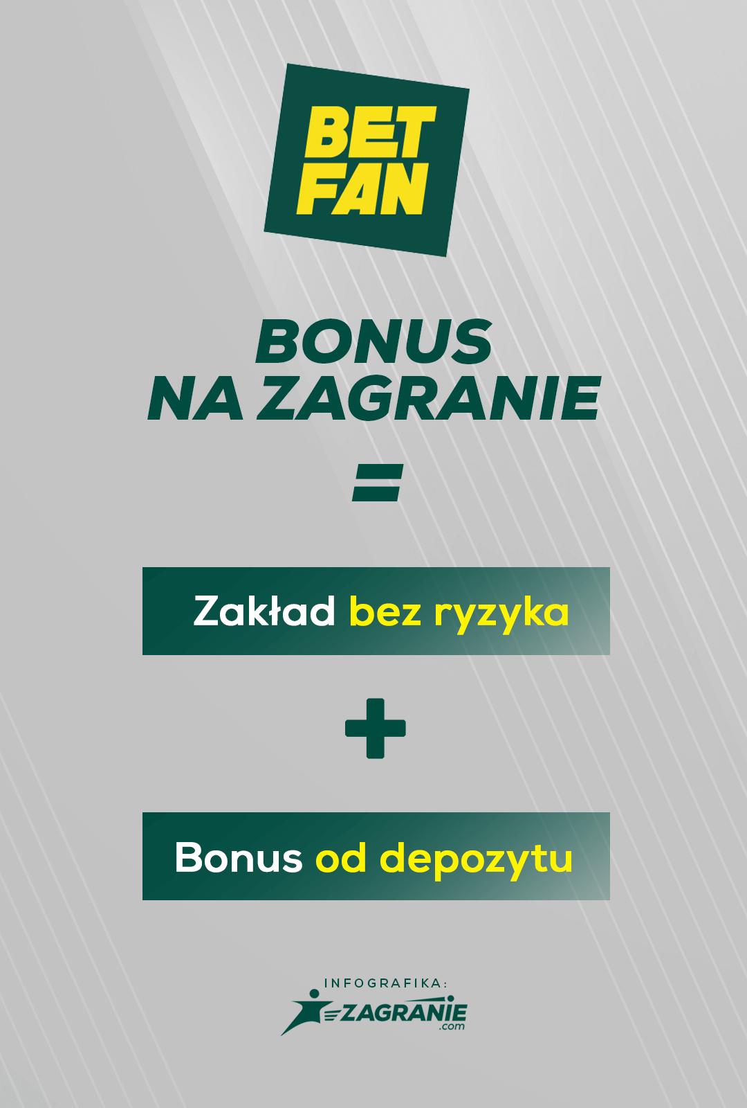 Zagranie bonus w BETFAN