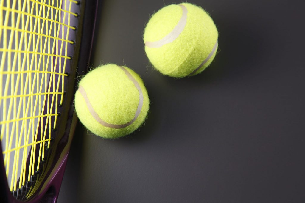Rakieta do tenisa i piłeczki