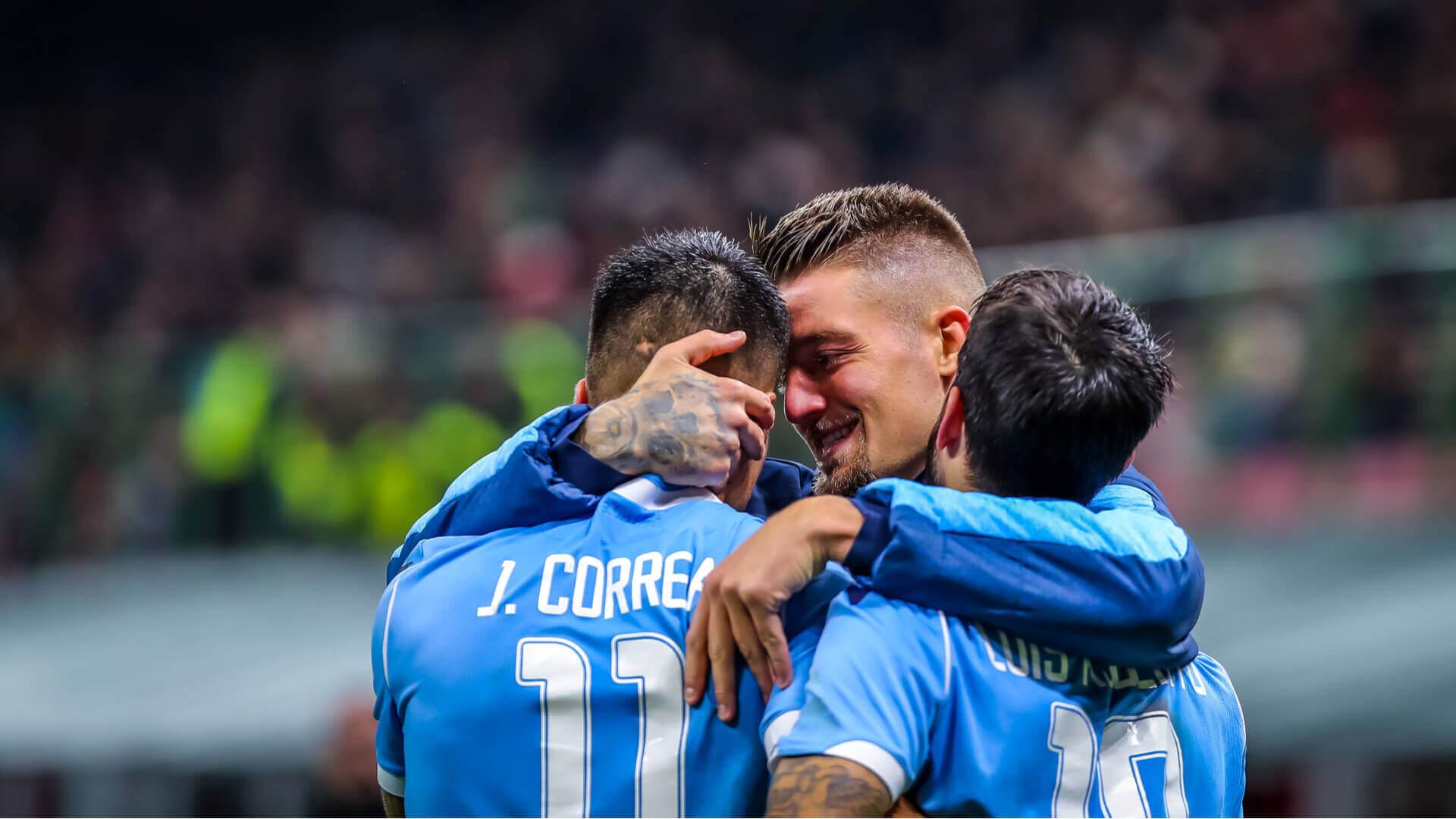 Correa, Milinković-Savić, Luis Alberto