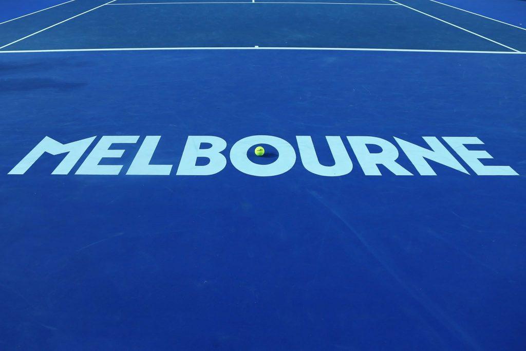 Kort na obiekcie Australian Open