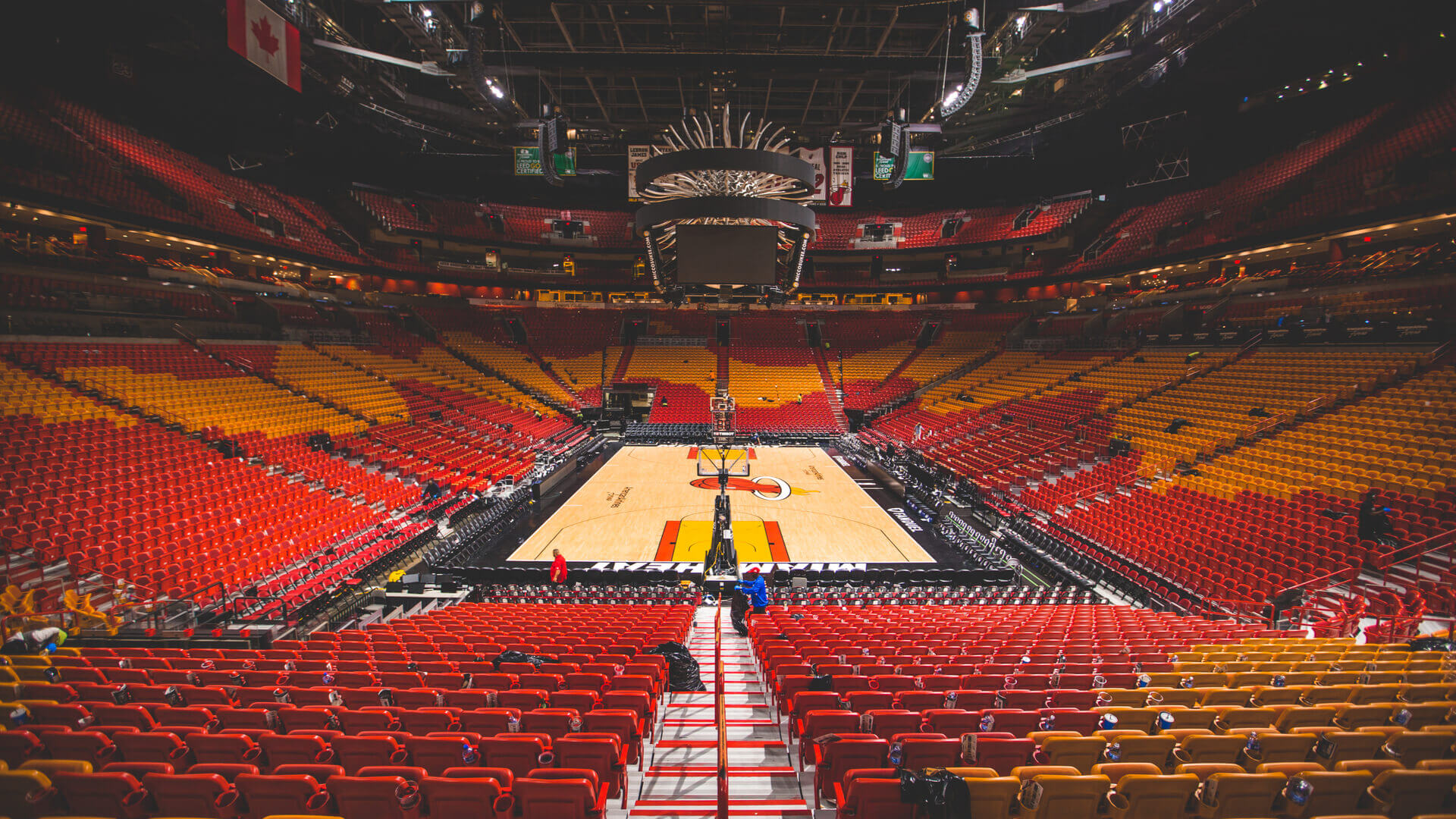 Amiercan Airlines Arena (Miami Heat)