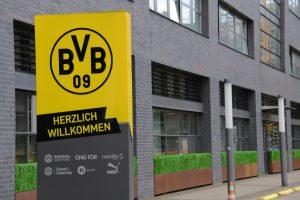 wjazd do siedziby klubu BVB