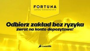 fortuna bonus i zakład bez ryzyka