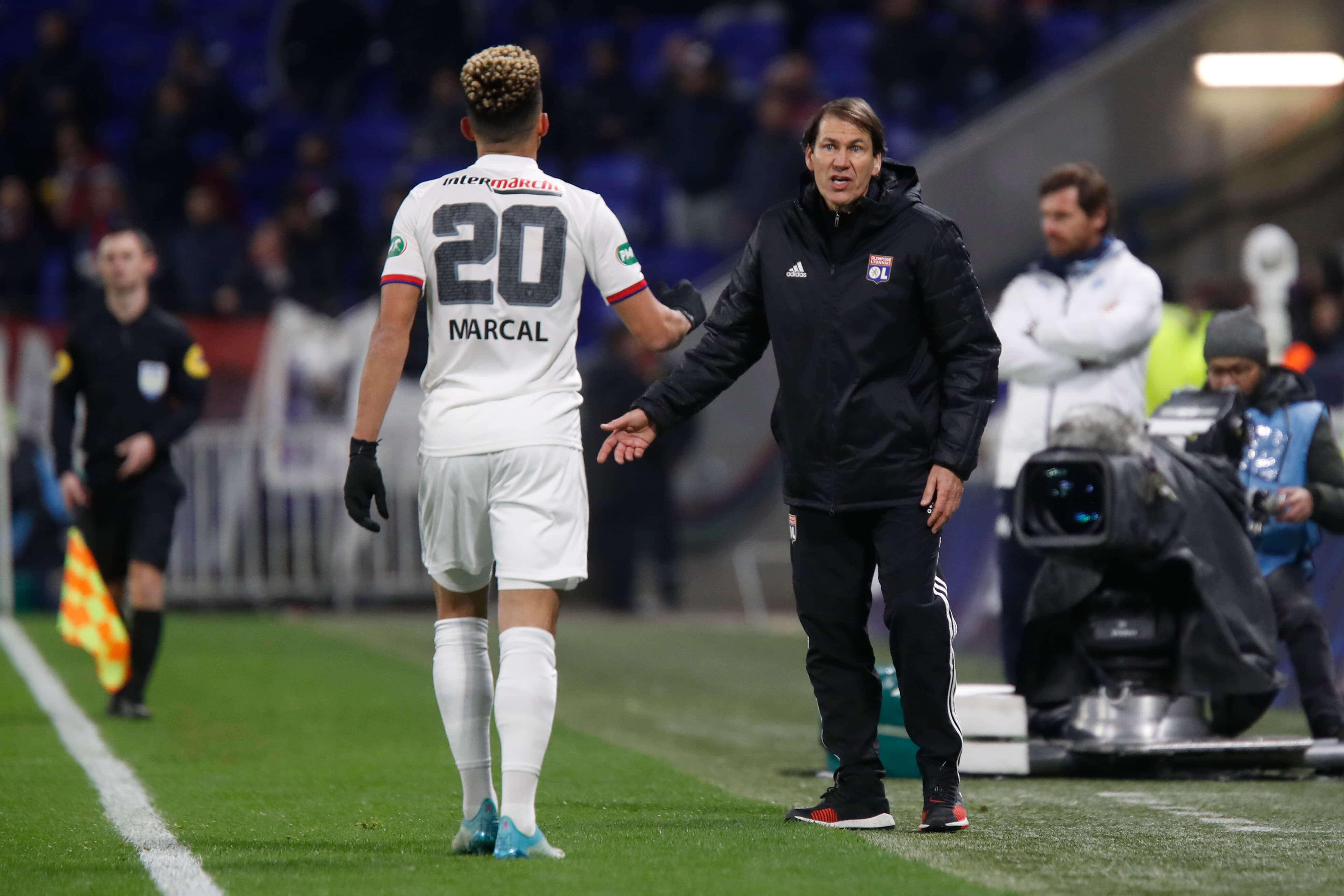 Fernando Marçal i Rudi Garcia