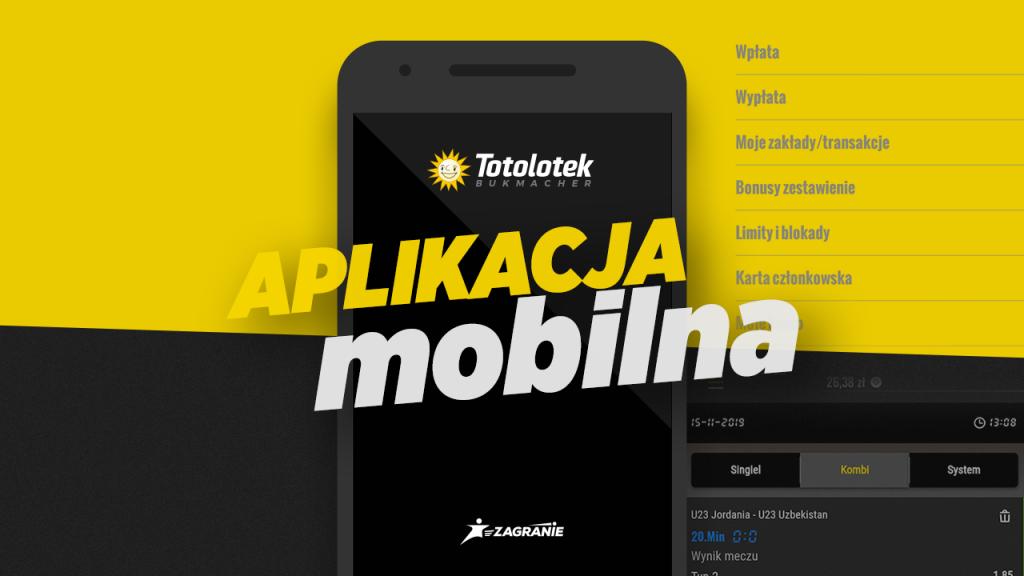 Okładka tekstu dotyczącego aplikacji mobilnej Totolotka