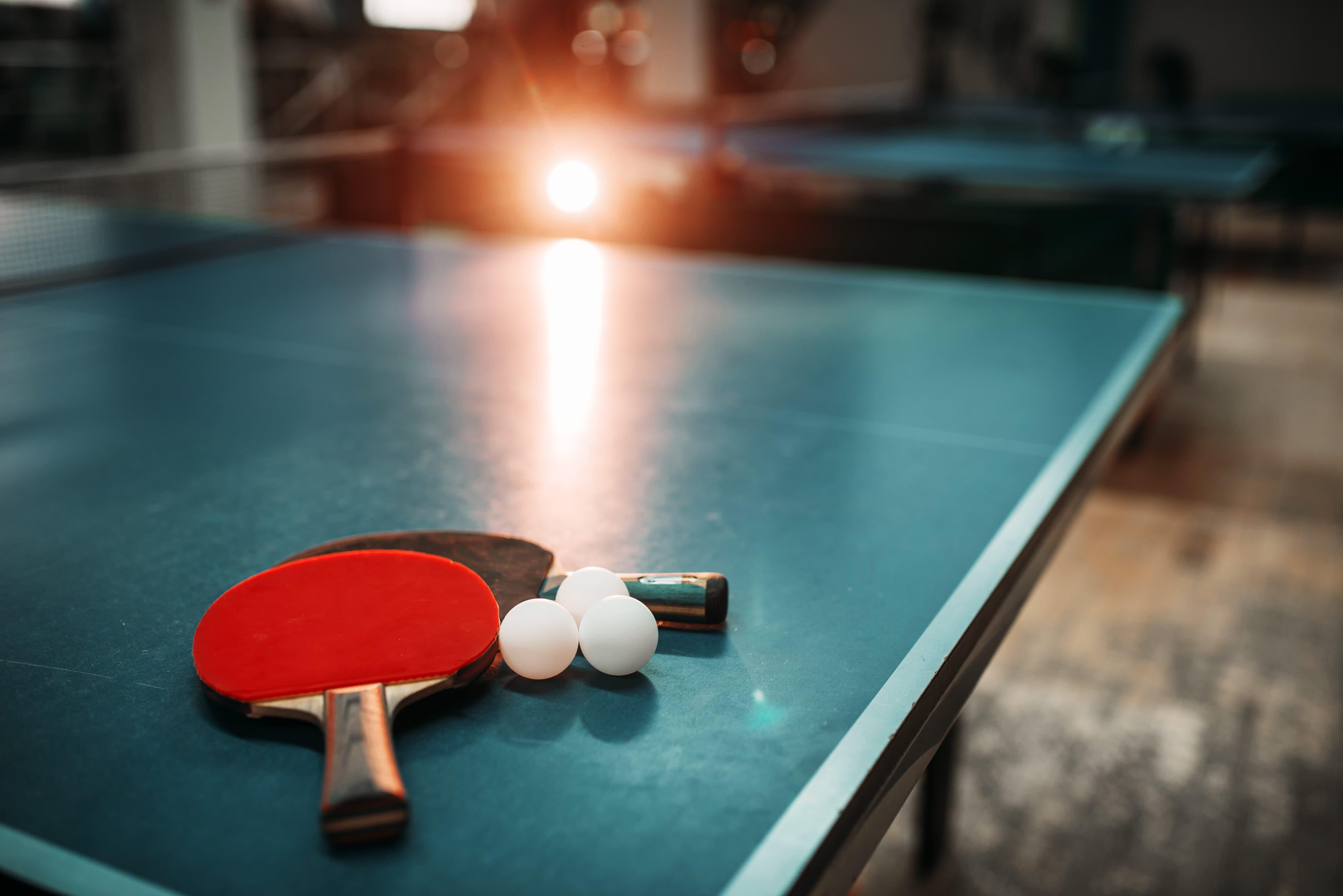przyrządy do gry w tenisa stołowego