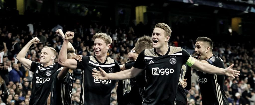 Ajax Amsterdam po meczu