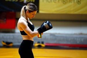 Aleksandra Rola w treningu
