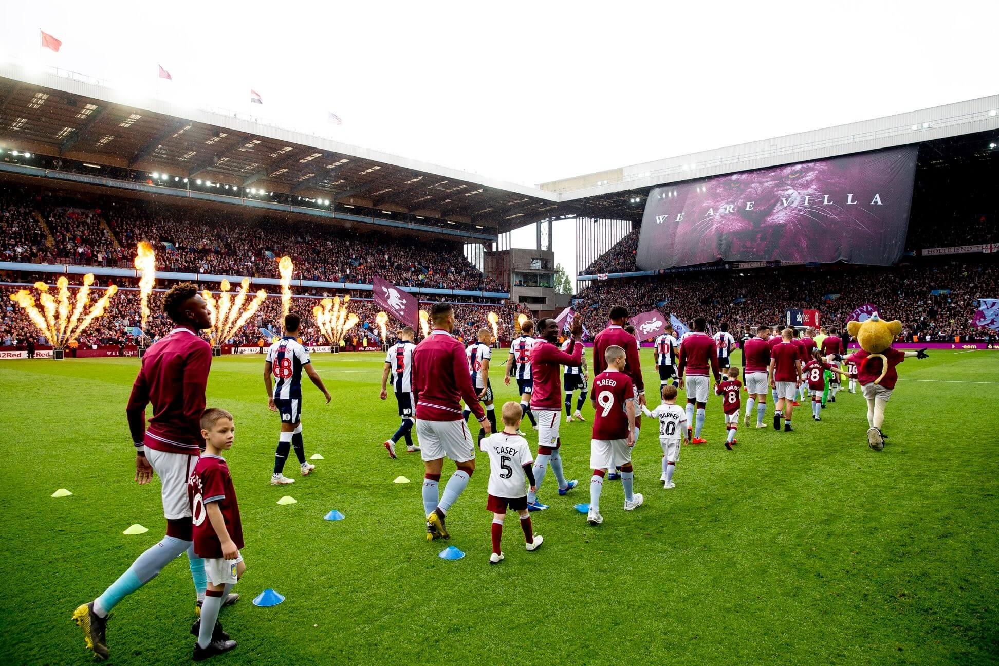Aston Villa przed meczem