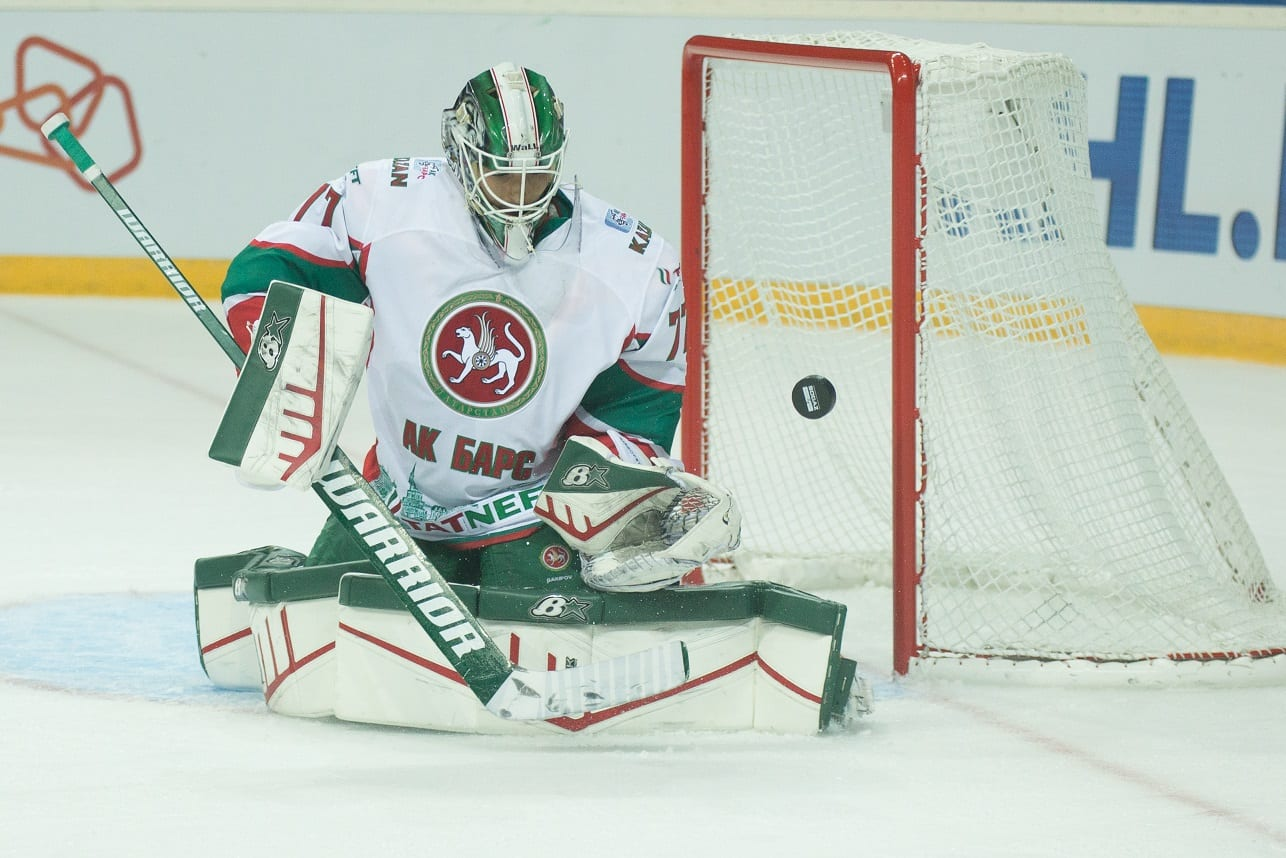 Kazań bramkarz KHL