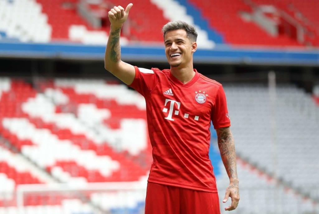 Coutinho Bayern Monachium