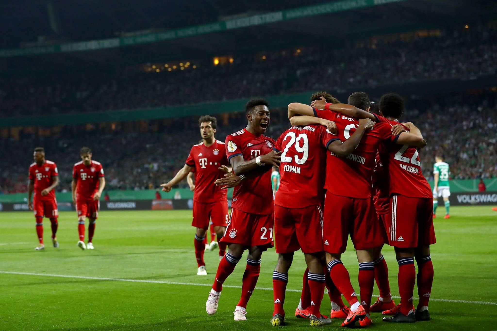 Bayern Monachium mecz Werder Brema