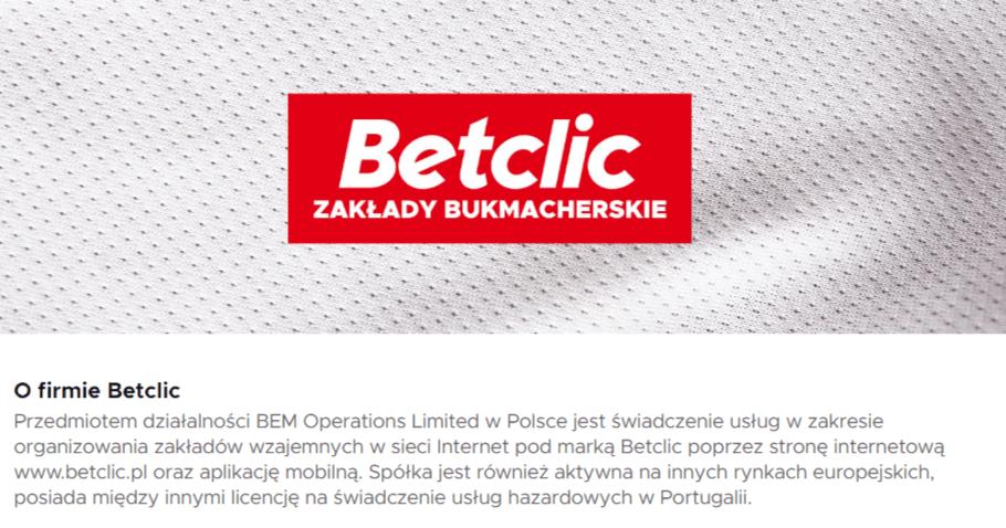 Informacje i opinie o Betclic i spółce BEM