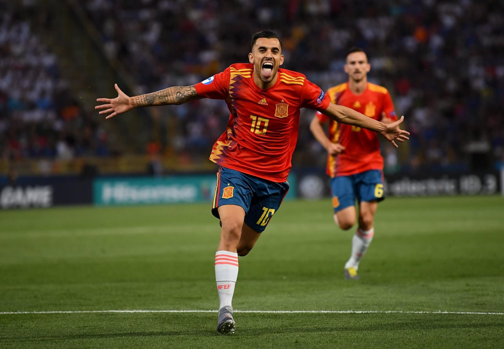 Hiszpania po golu