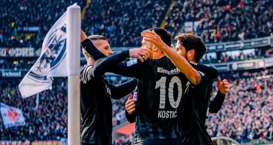 Eintracht Frankfurt u siebie