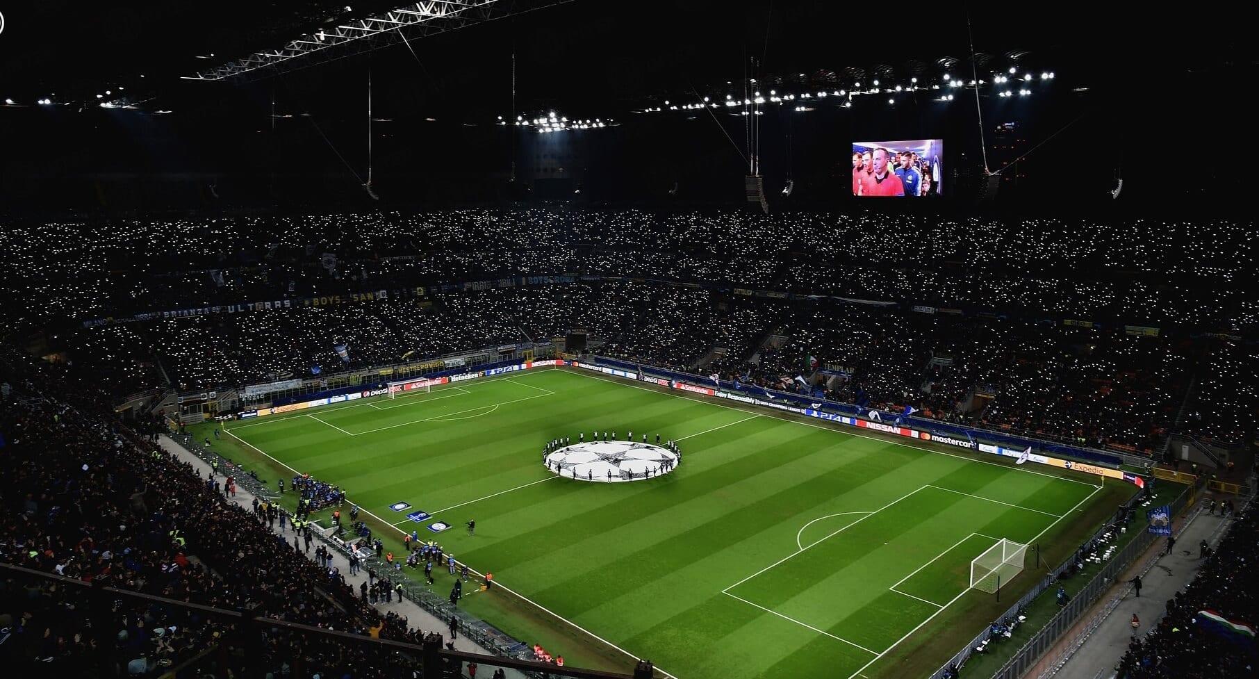 Inter stadion Liga Mistrzów