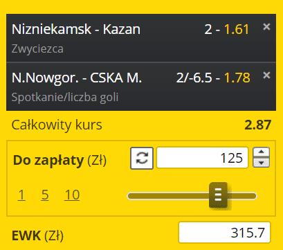 Typy na KHL 06.03. Fortuna