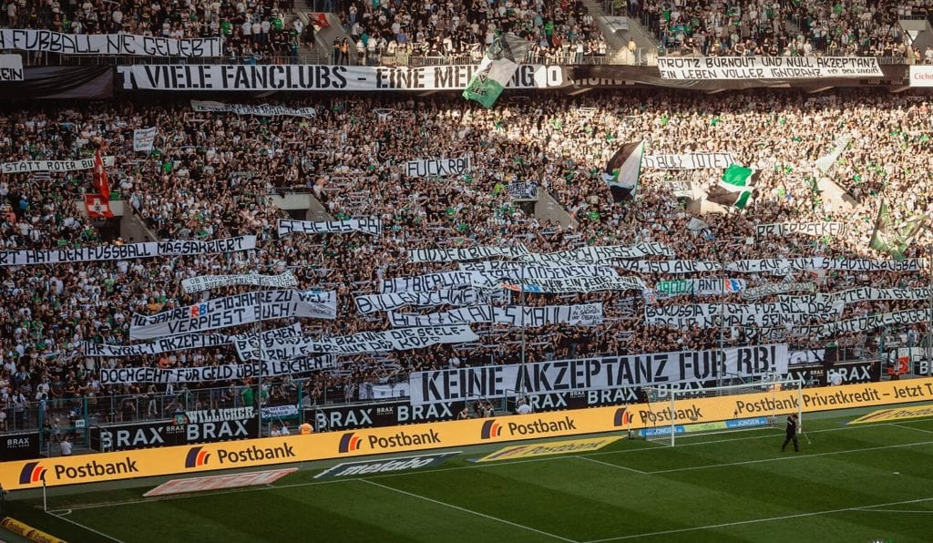 RB Lipsk Borussia Moenchengladbach mecz